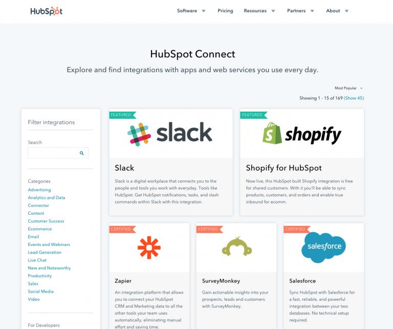 Part of the HubSpot Platform